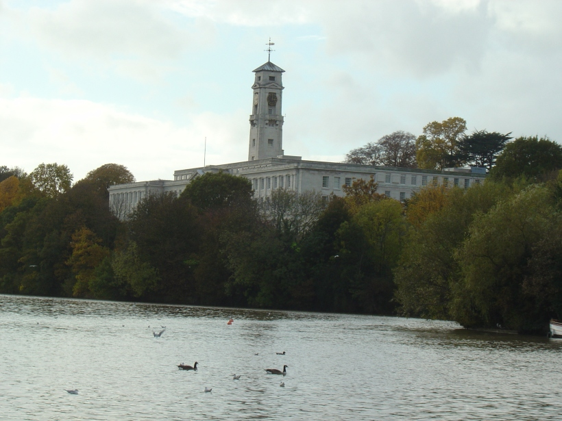 The Trent Building at Nottingham University