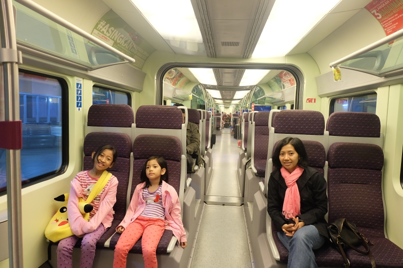 Very clean and comfortable train